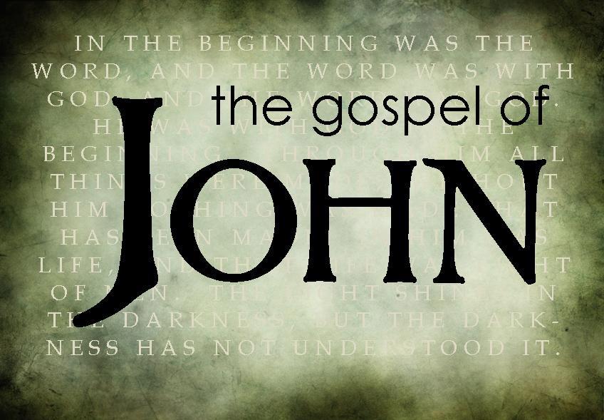 Image result for the gospel of john