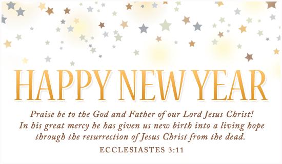 religious happy new year_