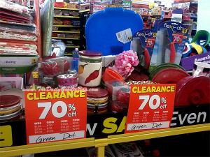 Clearance Table