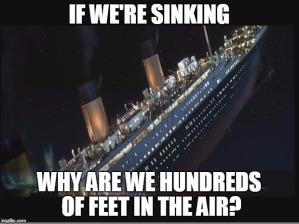 titanic climate