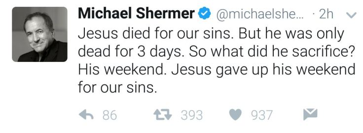 MIchael Shermer quote